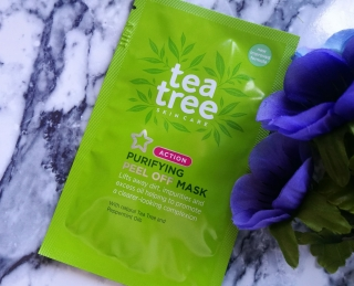 Superdrug Tea Tree Purifying Peel Off Mask