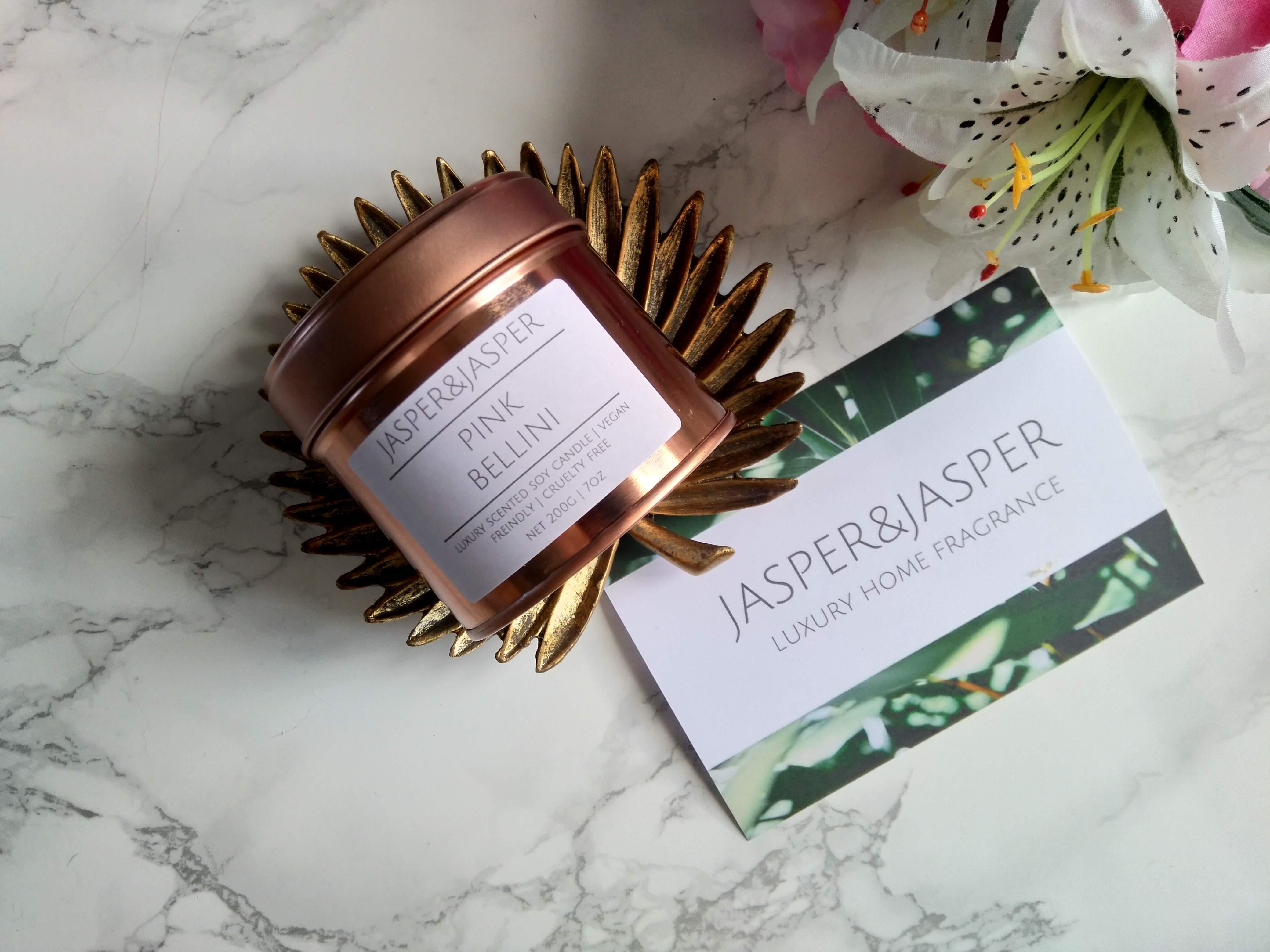 Jasper&Jasper 'Pink Bellini' Candle