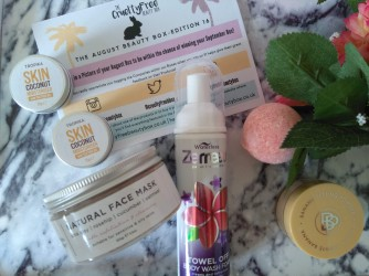 The Cruelty Free Beauty Box August 2018