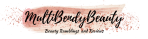 Multibendybeauty blog header design two