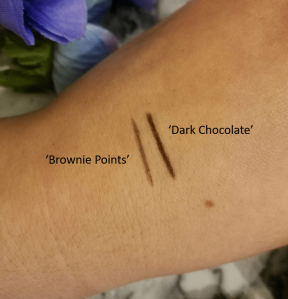 Soap and Glory 'Archery Brow Pencil' swatches