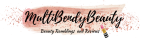 Multibendybeauty blog header design three
