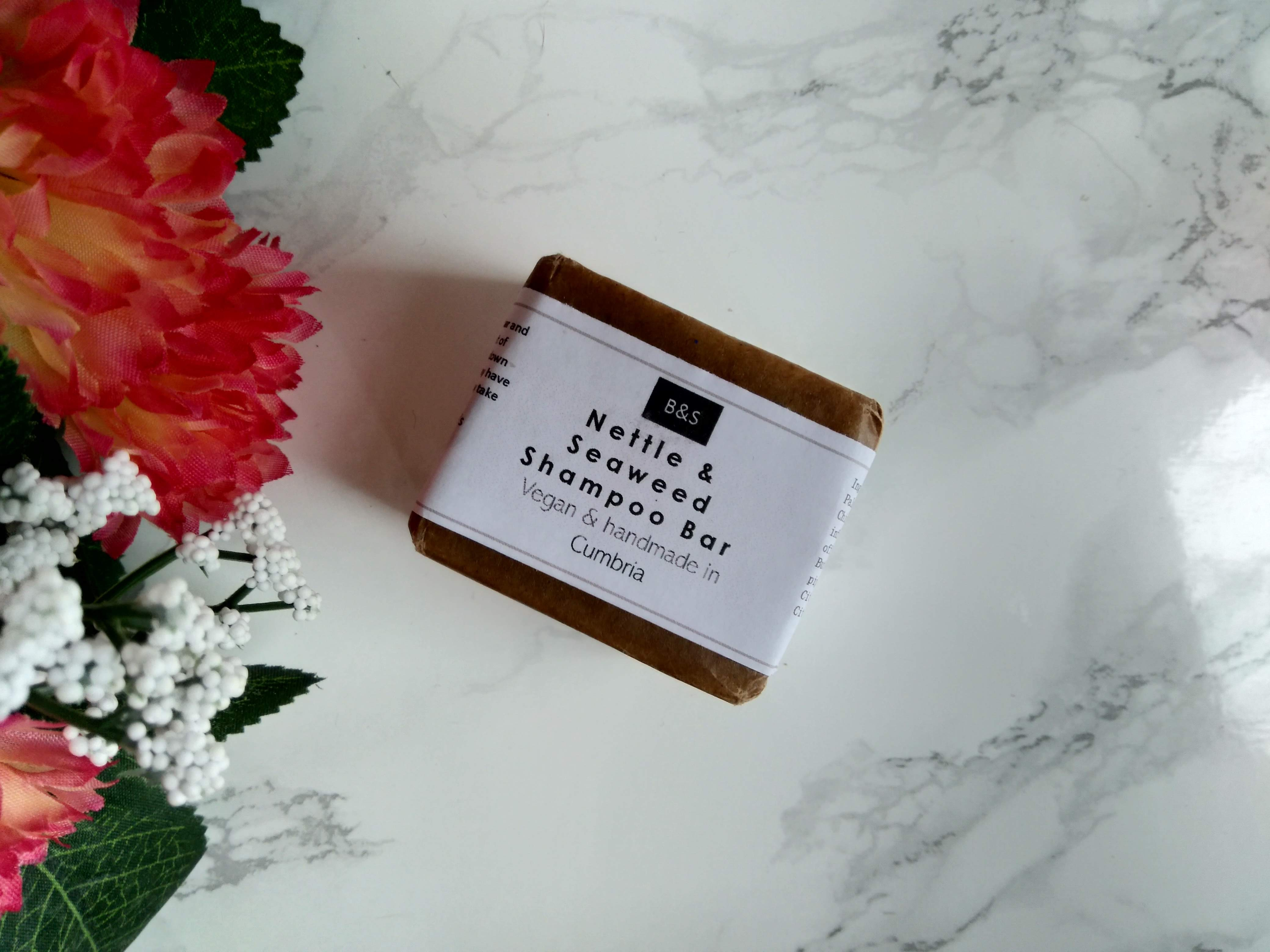 Bain & Savon Seaweed and Nettle Shampoo Bar