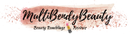Multibendybeauty blog header design one