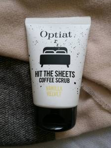 Optiat travel sized 'Vanilla Velvet' Coffee Scrub