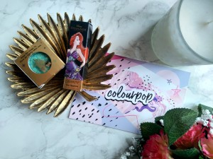 Colourpop Disney Designer Ariel