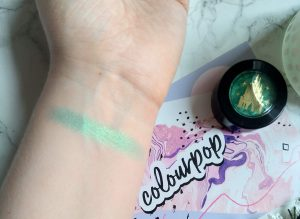 Colourpop Disney Designer Under The Sea Super Shock Shadow Swatch