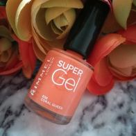 Rimmel London Super Gel Nail Polish 'Coral Queen'