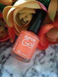 Rimmel London Super Gel Nail Polish 'Coral Queen'