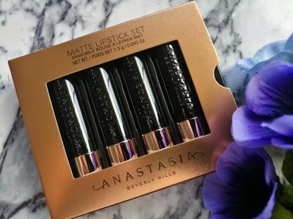 Anastasia Beverly Hills 'Mini Matte Lipstick Set - Nudes'