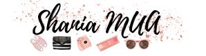 Shania MUA beauty blog header