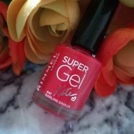 Rimmel London Super Gel Nail Polish Kate 'Darling Dahlia'