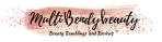 Multibendybeauty blog header design four