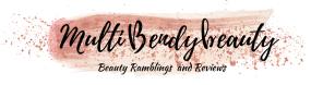 Multibendybeauty blog header design four